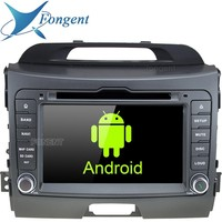 Android Unit Car DVD Stereo Audio Multimedia Radio Player for Kia Sportage 2010 2011 2012 2013 2014 2015 GPS Navigation system