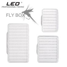 Mounchain Fly Fishing Clear View Box Flies Waterproof Case S/M/L Fishing Tackle Storage Case Box Accessories for Lure Baits Hook