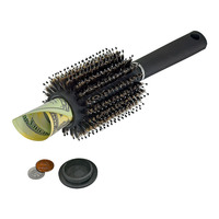 Hair Brush Stash Safe Diversion Secret Security Hidden Valuables Hollow Container Home Secret Compartment