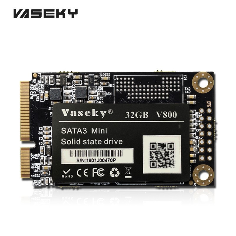 Vaseky Msata SSD 1.8 Inch Computer Hard Drive 120GB 256GB SSD Laptop Sata3 Mini Internal Solid State Drives Notebook 64GB 32GB