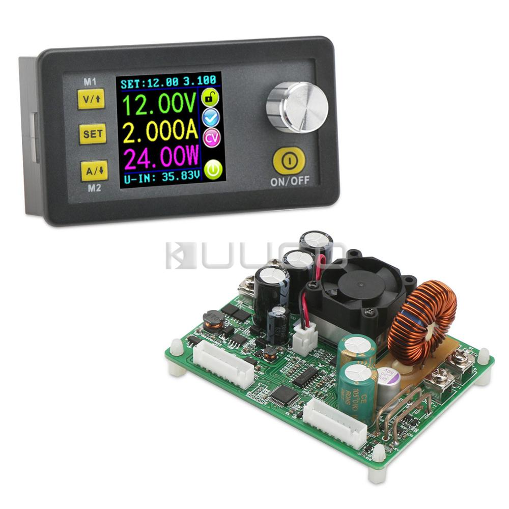 Digital Power Supply Module/Controller DC 6~60V to 0~50V 750W Voltage Regulator 15A Buck Converter/Adapter with Cooling FanDigital Power Supply Module/Controller DC 6~60V to 0~50V 750W Voltage Regulator 15A Buck Converter/Adapter with Cooling Fan