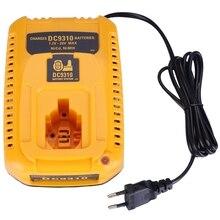 цена на Hot Deals EU Plug For Dewalt Battery Charger DC9310 7.2V-18V Nicad & Nimh Battery DW9057 DC9071 DC9091 DC9096 Batteia Charger