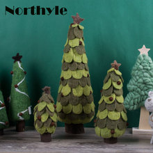 Genuine Dream House DH BS163128 christmas tree decoration wool figurine xmas gift craft