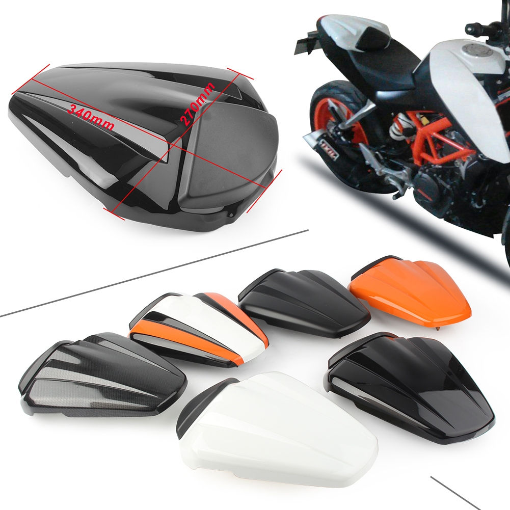 Rear Pillion Passenger Cowl Seat Back Cover For KTM 125/200/390 Duke 2012 2013 2014 2015 image