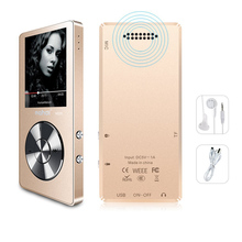 Original metal MP3 player lossless HiFi Music with High Quality Sound out Speaker E-book FM radio Clock