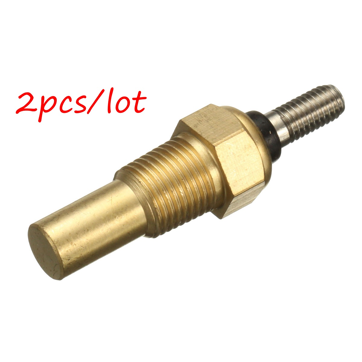 2pcs Universal Car Oil Water Temperature Temp 1/8 NPT Sensor Sender 0 to 150 Degrees2pcs Universal Car Oil Water Temperature Temp 1/8 NPT Sensor Sender 0 to 150 Degrees