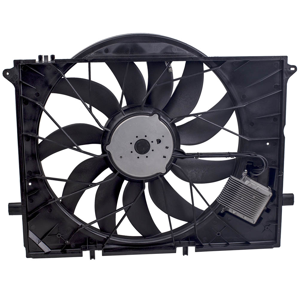 Brushless Motor Cooling Fan for 2009 2012 For Mercedes Benz SL63 AMG Base Convertible 2 Door
