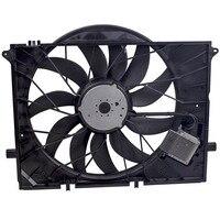 Brushless Motor Cooling Fan for 2009 2012 For Mercedes Benz SL63 AMG Base Convertible 2 Door