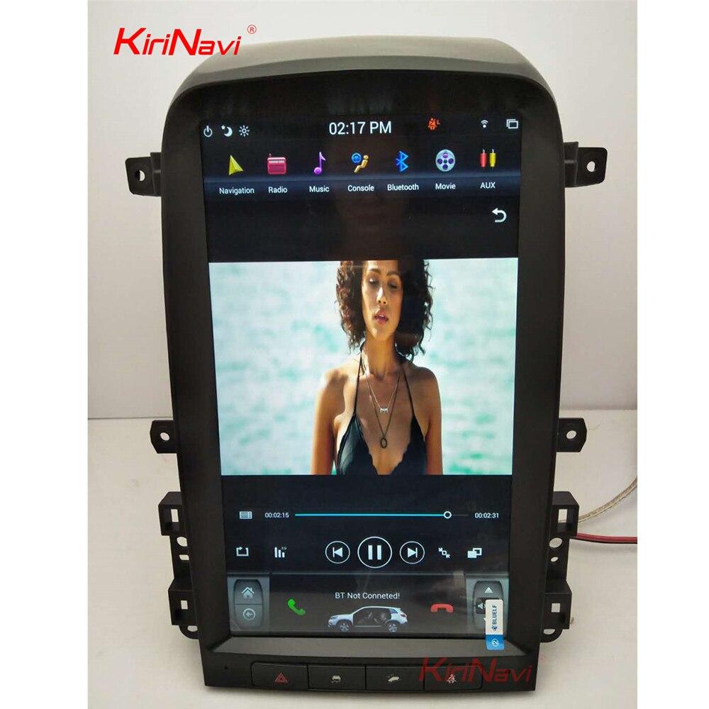 KiriNavi de pantalla Vertical Tesla estilo 13,6 pulgadas Android 6,0 coche multimedia GPS navegación Radio del coche para Chevrolet Captiva 2008- 12