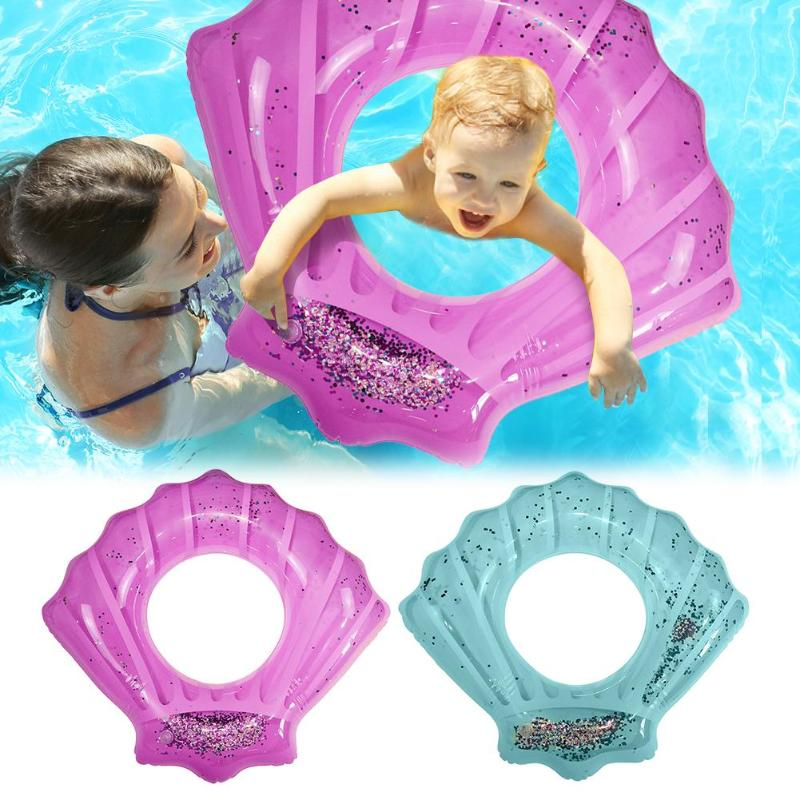 1pcs Safety Inflatable Baby Swimming Ring Infant Float Circle Bathing Water Toys  Seat Raft Swim Ring Aid Trainer Rings