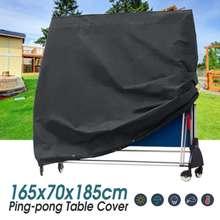 Водонепроницаемый чехол для хранения настольного стола для понга, защитный лист для настольного тенниса, мебельный чехол 165x70x185 см