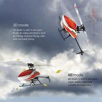 XK K110 шоковой заморозки 6CH бесщеточный 3D6G Системы Радиоуправляемый вертолет RTF для детей Веселые детские игрушки подарок RC дроны открытый мо