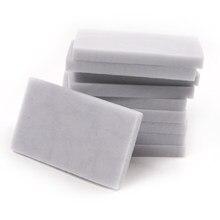 Alta qualidade 10 pces forte descontaminação esponja borracha multi-funcional limpador 100x60x2 0/100x60x10mm esponja mágica borracha