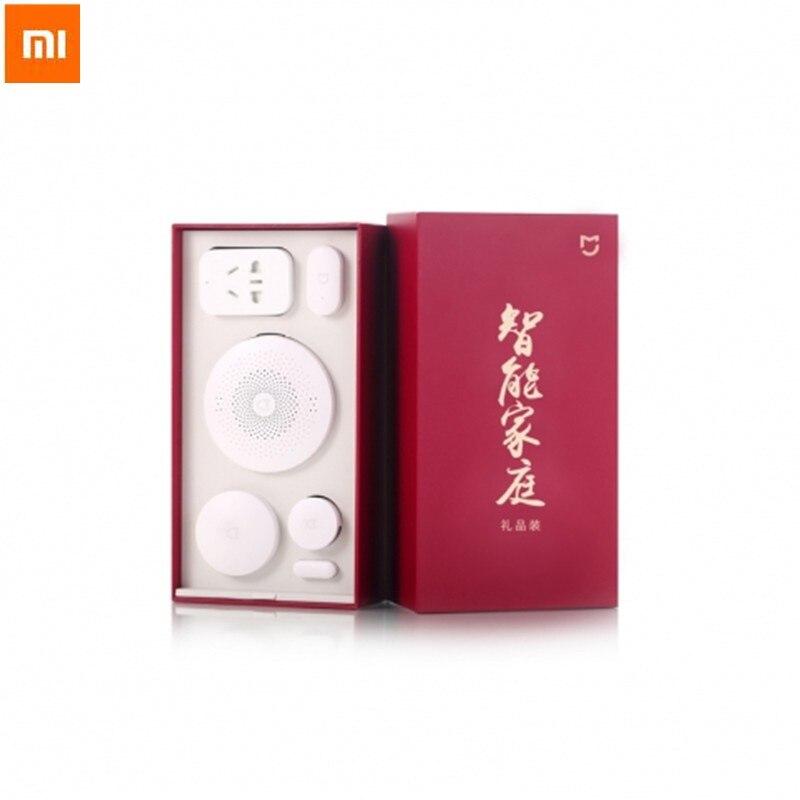 D'origine Xiao mi mi home 5 en 1 Kits de sécurité maison intelligente Kit maison intelligente passerelle porte capteurs capteur de corps interrupteur sans fil