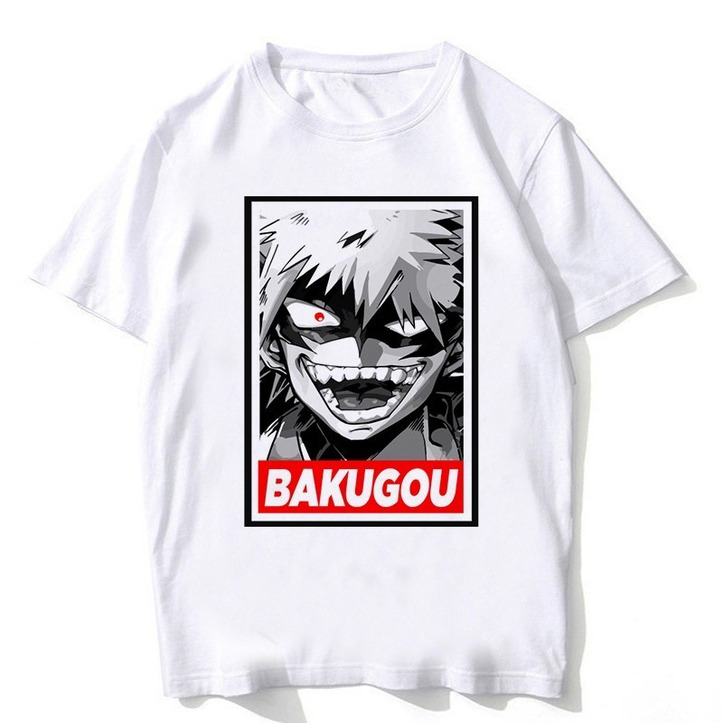 Newest My Hero Academia   T     Shirts   Man Short Sleeve Clothing Boku No Hero Academia cosplay Funny Cartoon   T  -  shirt   For Man/woman