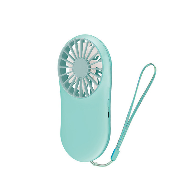 New Pattern Pocket Fans Usb Charge Mini Hold Fans Student Outdoors Bring Sika Portable Small Fan
