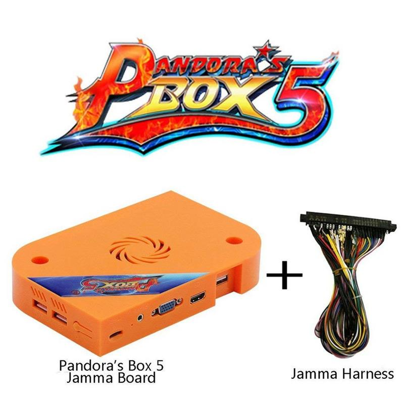 Hot Original Pandora's Box 5 Pandora Box 6 1300 In 1 Arcade Game Cartridge Jamma Multi Game Board WITH Cga Vga And HDMI OUTPUT