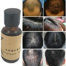 Hair Growth Ginger Oil Natural Plant Essence Faster Grow Beard Eyelashes Hair Tonic Shampoo Hair Loss Hair Care Serum