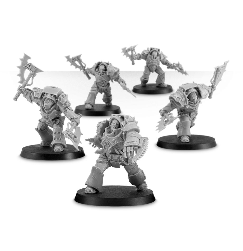World Eaters Red Butchers Squad-in Model Building Kits from Toys & Hobbies