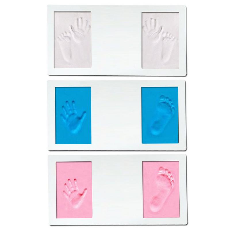 Baby Care  Baby Handprint Footprint Imprint Kit Baby Souvenirs Casting Newborn Footprint Ink Pad Infant Clay Toy Gifts