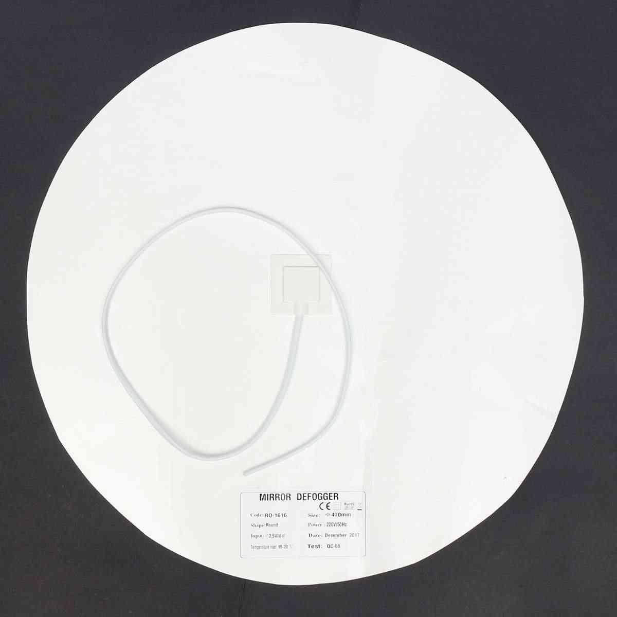 47 см зеркальные грелки для размораживания зеркал обогреватель для ванной коврик светодиодный зеркальный нагревательный фильм системы питания для дома и гостиниц