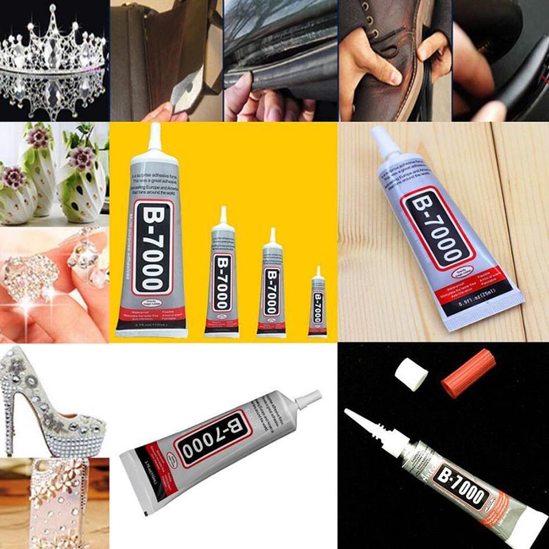 1410pcs B-7000 Glue Industrial Adhesive for Phone Frame Bumper Jewelry WXV Sale
