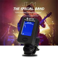 JOYO Acoustic Guitar Tuner Ukulele Violin Bass Tuner Universal Register Instruments Accessories(China)