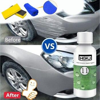 HGKJ-11 50ml Car Paint Scratch Repair Remover Agent Polishing Wax Paint Kit Set Paint Care Maintenance Auto detailing