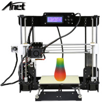 Made in China Anet A8 3D Printer With Auto Leveling CE FCC RoHS Certificate DIY Large