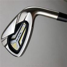 8 шт утюги для гольфа набор HONMA BEZEAL 525 гольф-клубов Honma 525 с графитом/NS PRO 950 стальной Гольф Вал R или S flex