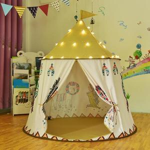 Image 5 - Kid Teepee Casa Tenda 123*116cm Portatile Princess Castle Regalo Per I Bambini I Bambini Giocano Tenda del Giocattolo Di Compleanno Di Natale regalo