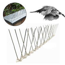 Bird Repeller Anti-bird Thorn 50cm Stainless Steel Long Nails Spikes Orchard Catcher Yard Repellent Device Anti-Bird