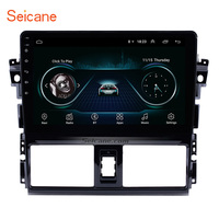 Seicane 2Din Android 8.1 10.1 inch Car GPS Auto Radio Wifi Multimedia Player Head Unit For 2013 2016 Toyota Vios Mirror link