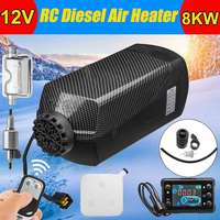 12V 8000W 8KW Car Heater Air Diesels Fuel Parking Heater LCD Monitor Remote Control for RV Truck Motor Home Boat Bus Motorhome