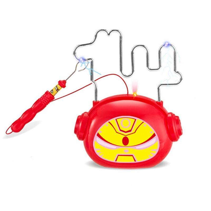 Lichtgevende Elektrische Kinderen Lopen Doolhof Speelgoed Cartoon Projectie Puzzel Kinderen Light-emitting Elektrische Touch Kleuterschool Doolhof Speelgoed