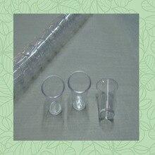 Прозрачные многоразовые пластиковые чашки для причастия поклонения в церкви христианское таинство Иисус Тайная вечеря Маленькая прозрачная чашка