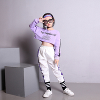 Children's jazz dance costumes girls suits show hilum han edition of children's hip hop dance clothes female children costumes
