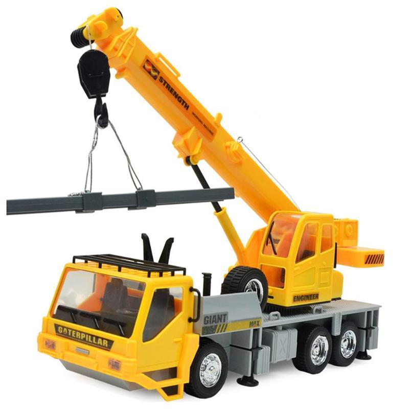Constructief Simulatie Rc Graafmachine Speelgoed Kinderen Usb Opladen Crane Truck Jongens Techniek Auto Tractor Crawler Digger Met Verlichting Muziek Een Effect Produceren Voor Een Heldere Visie