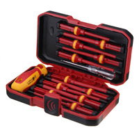 Voltage 1000V 13 Pcs Professional Electronic Insulated Screwdriver Set High Slotted Screwdriver Durable Hand Tools Accessory Set