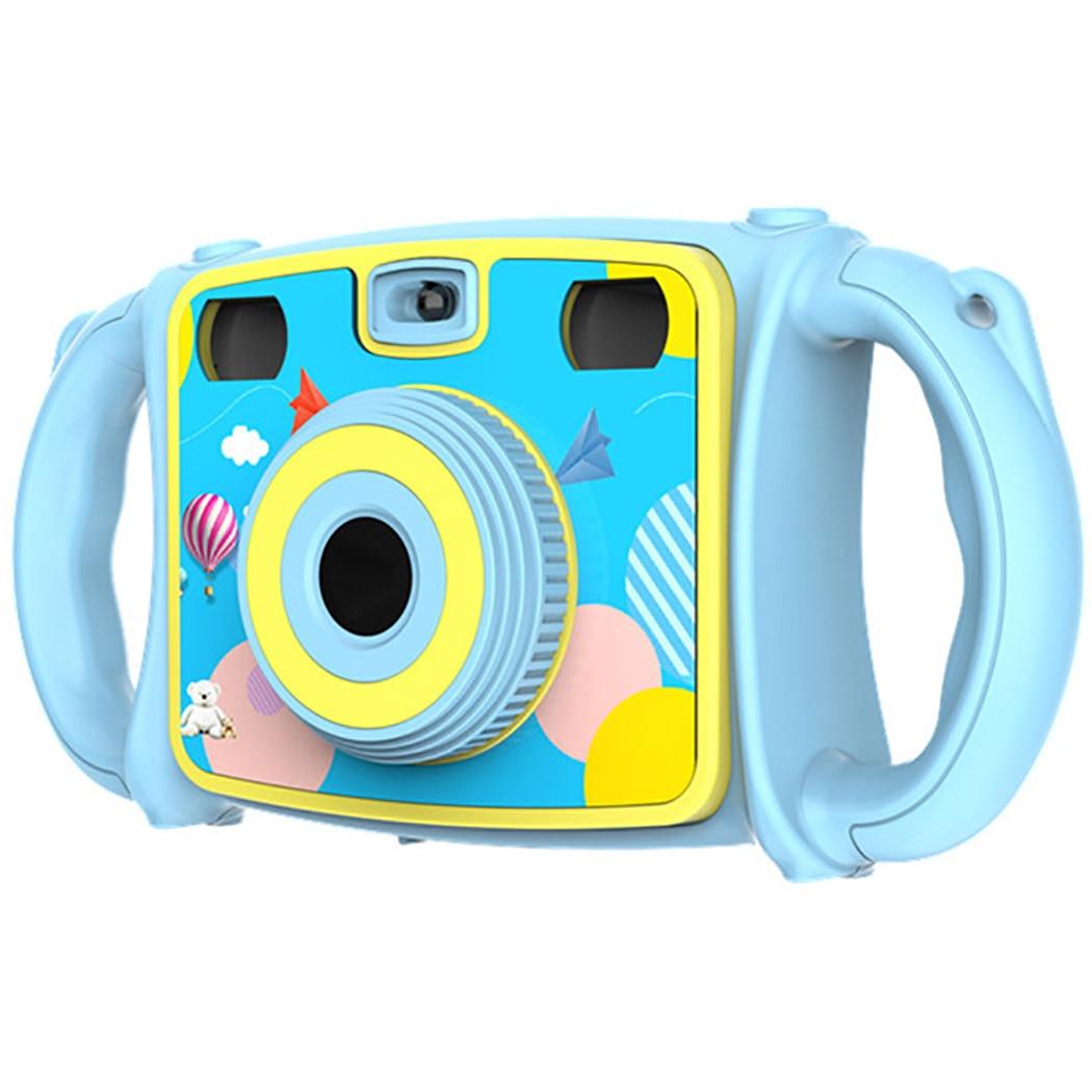 Kid's Camera Shatterproof HD Screen Dual Lens Digital Camera Developmental Toy