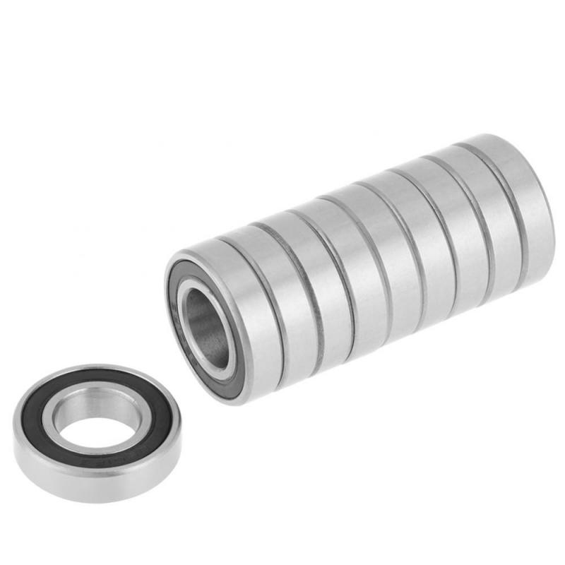 10 Pcs 6901-2RS Rubber Sealed Deep Groove Ball Bearing Sealed Deep Groove 12x24x6mm With High Quality Two Sides Dustproof