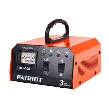 Устройство зарядное PATRIOT BCI-10A (Мощность 400 Вт, максимальный ток 10 А, емкость батарей 10-150А/час, автоматическое управление, режим сохранения заряда)