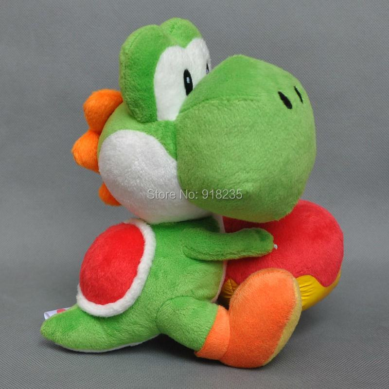 """Oyuncaklar ve Hobi Ürünleri'ten Filmler ve TV'de 10/Lot Süper Mario Bros 7 """"Yoshi tutun Apple Peluş Bebek Oyuncak'da  Grup 1"""