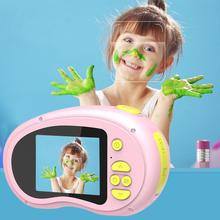Kids HD Digital Camera Toy Shockproof Silicone Soft Cover Photography Mini SLR Cartoon