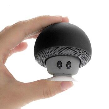 Mini Mushroom Speaker Wireless Bluetooth 4.0 Speaker Portable MP3 Player Stereo Bluetooth Speaker for iPhone Xiaomi Mobile Phone