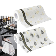 Reusable Kitchen Roll Paper Dish Bowl Table Cleaning Towel Cloth Non Stick Oil Home Kitchen Accessory