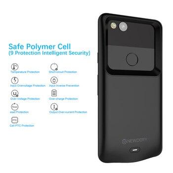 Для Google Pixel 2 XL чехол для телефона 5200 мАч внешний резервный внешний аккумулятор зарядное устройство чехол для Google Pixel 2XL зарядное устройство ч...
