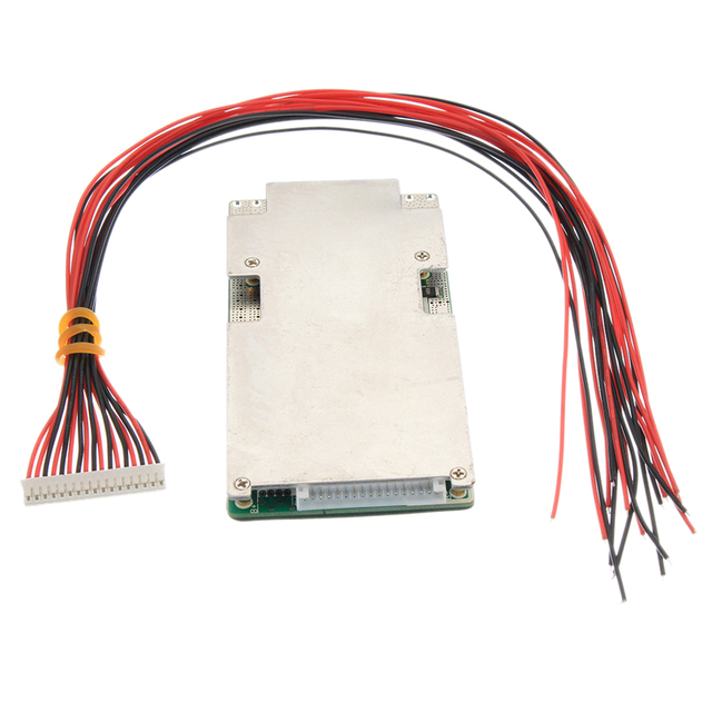 16S 45A 48V Li Ion Lithium Lifepo4 Battery Power Protection Board Bms Lfp Pcm Pcb Integrated Circuits Board For E Bike Electri
