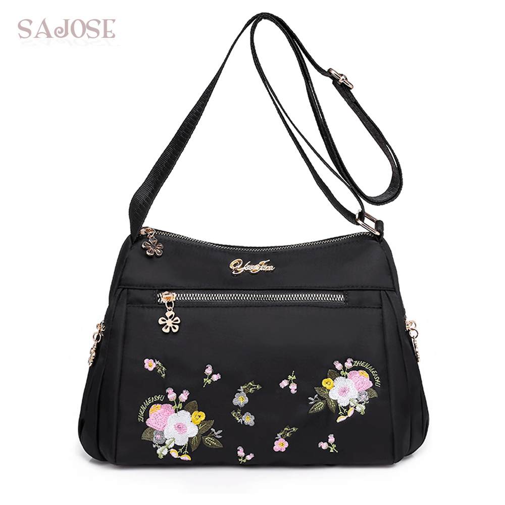 Oxford Women Crossbody Bags Vintage Embroidery Ladies Messenger Designer Handbag Casual Clutch Fashion Female Shoulder BagsOxford Women Crossbody Bags Vintage Embroidery Ladies Messenger Designer Handbag Casual Clutch Fashion Female Shoulder Bags
