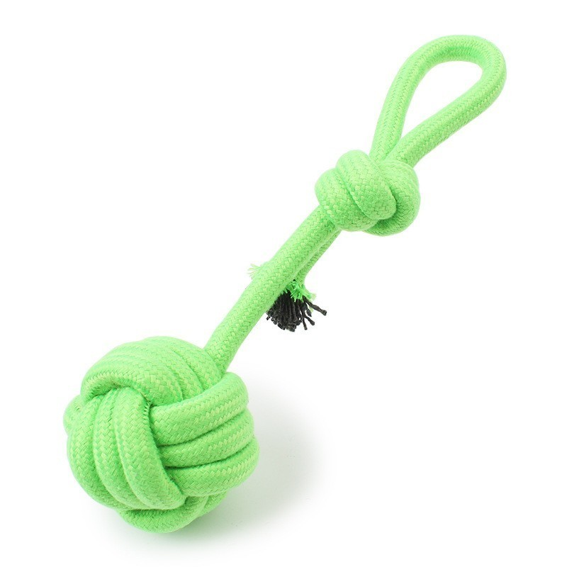Dog Toys Cotton Rope Ball Rat Node Type Hard and Solid Chewing Molar Toy Fun and Relaxing for Puppy Dog Toys Pet Supplies in Dog Toys from Home Garden